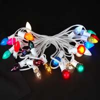Picture for category C9 White Wire Outdoor String Light Sets