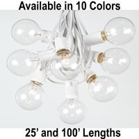 Picture for category G50 String Light Sets on White Wire