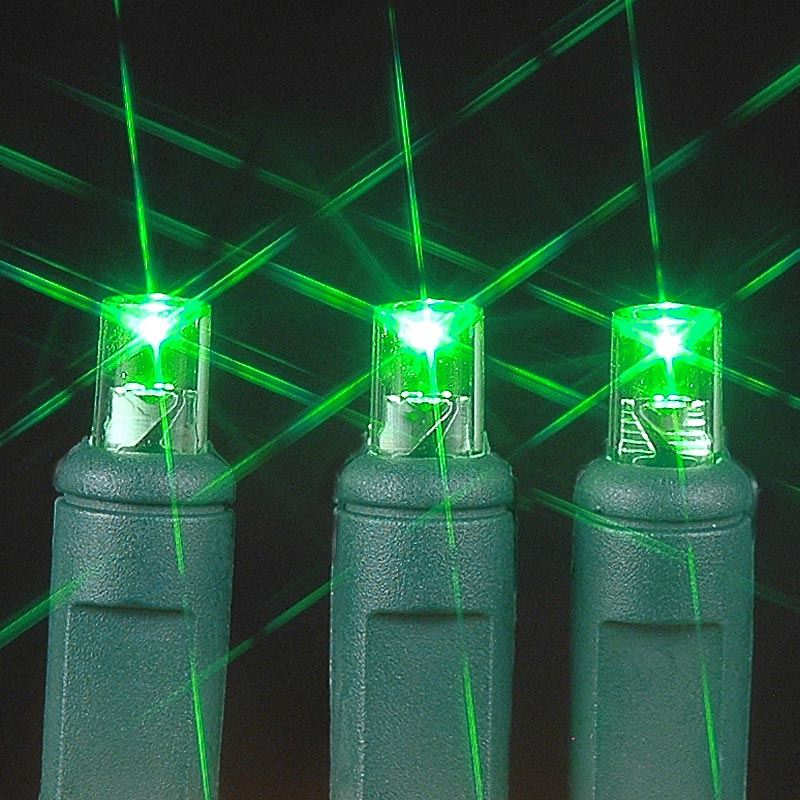 Green LED Net Lights 4' X 6' - Novelty Lights Inc