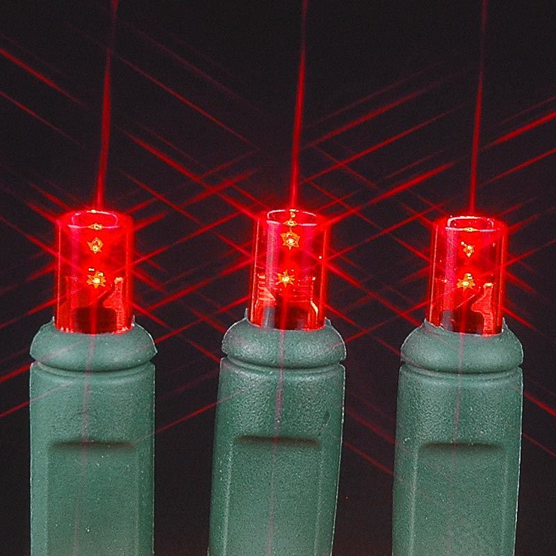 Picture Of 50 Led Battery Operated Lights Red