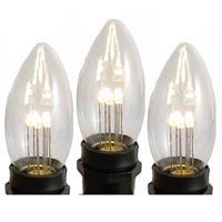 glass c9 led bulbs