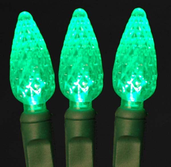 c6 led 100 light green strawberry mini lights novelty. Black Bedroom Furniture Sets. Home Design Ideas
