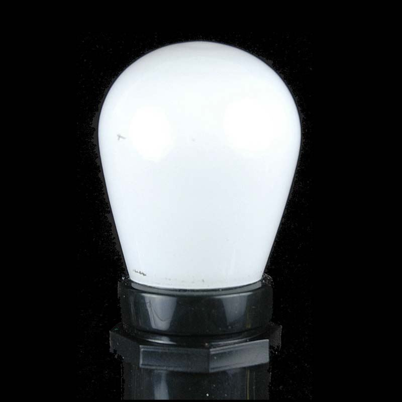 Picture of 25 Pack of Ceramic White S14 11 Watt Bulbs Meduim Base e26