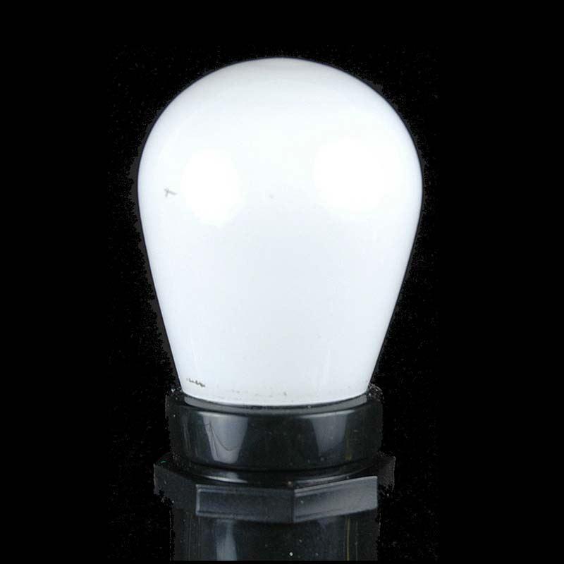 Picture of 25 Pack of Ceramic White S14 11 Watt Bulbs Meduim Base e26
