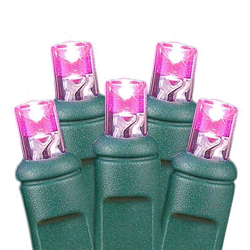 Pink Led Net Lights 4 X 6 Novelty