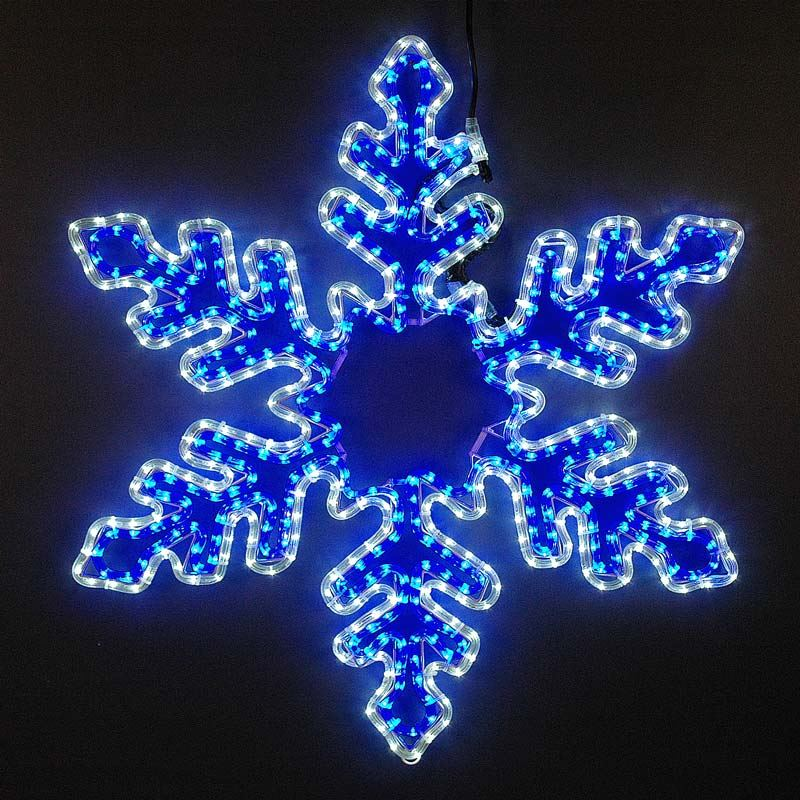 "Picture of 36"" LED Snowflake-Cool White & Blue"