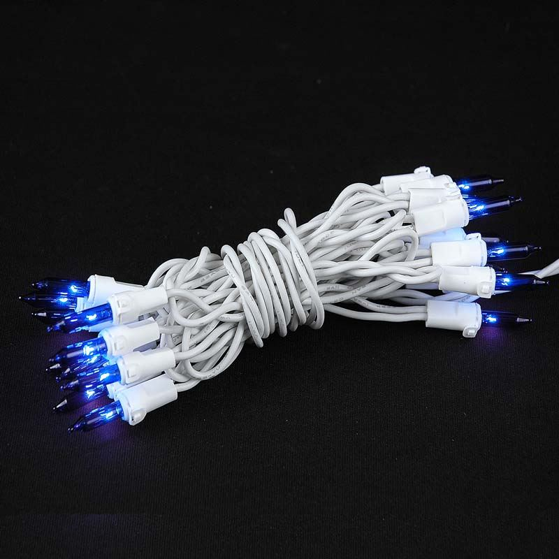 non connectable blue white wire mini lights 20 light 85