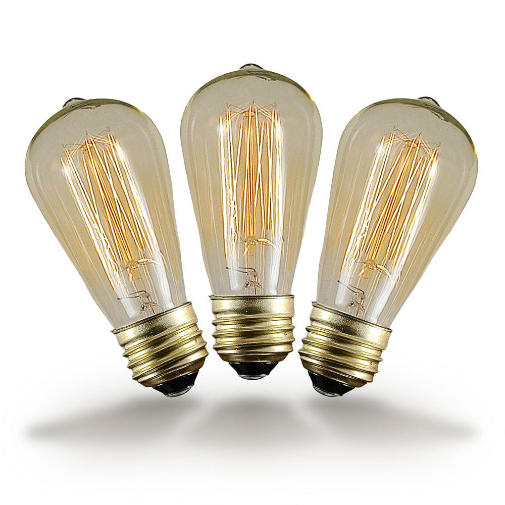 Buy 40w St64 Vintage Edison Style Filament Bulbs Novelty