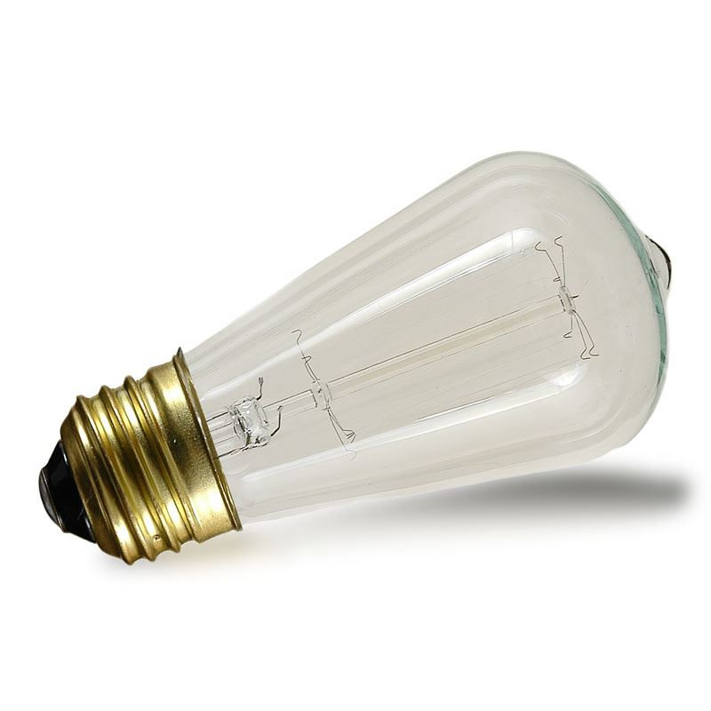Picture of ST64  Vintage Edison  Bulb - E26 - 60 Watt -1 Pack**ON-SALE**