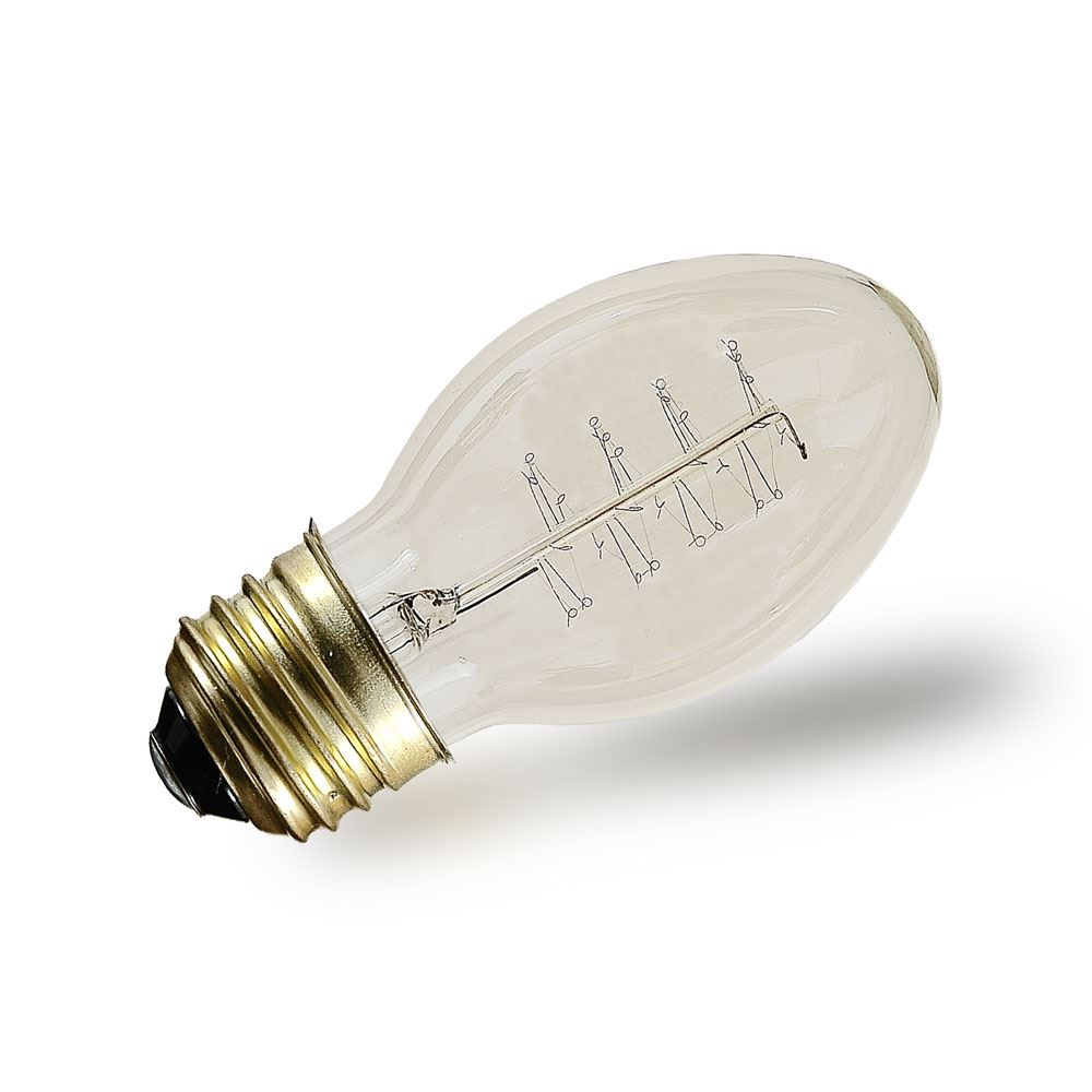 Picture of PS58 Vintage Edison Bulb - E26 - 40 Watt -1 Pack**ON SALE**