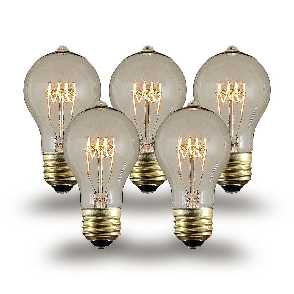A19 Vintage Edison Style Filament Bulbs
