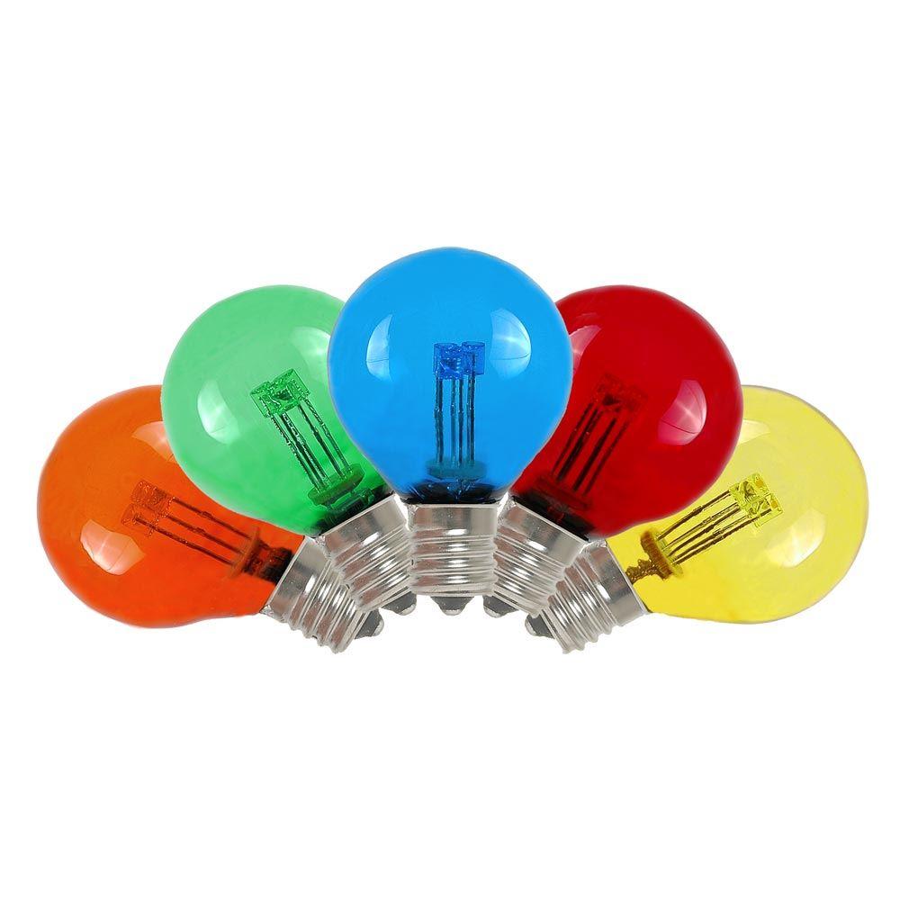 25 Pack G30 LED Outdoor String Light Patio Globe