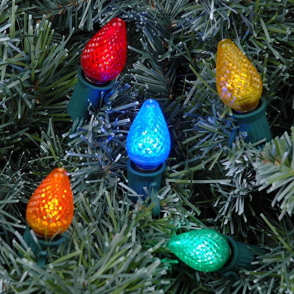 Multi LED C7 Replacement Christmas Bulbs and Lamps