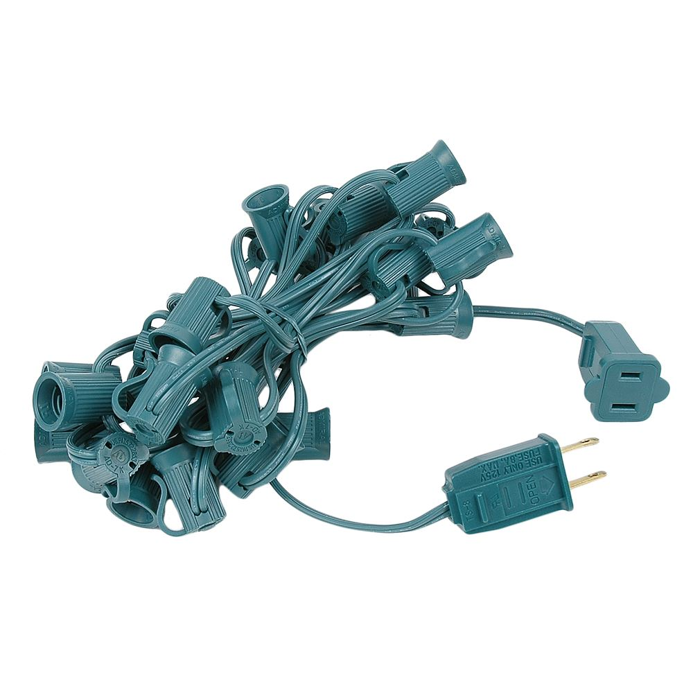 "Picture of C7 12.5' Stringers 6"" Spacing - Green Wire"