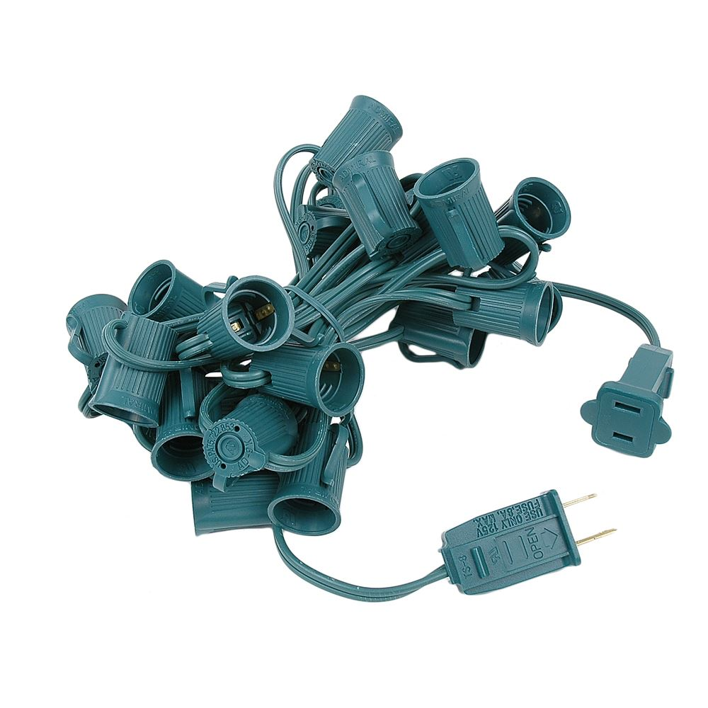 "Picture of C9 12.5' Stringers 6"" Spacing - Green Wire"