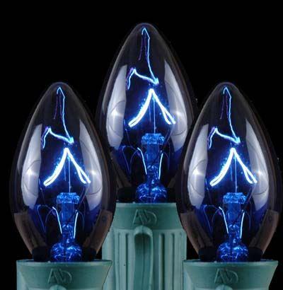 String Of Blue Lights Ubersetzung : 100 Blue C7 Christmas Light Set on Brown Wire - Novelty Lights, Inc