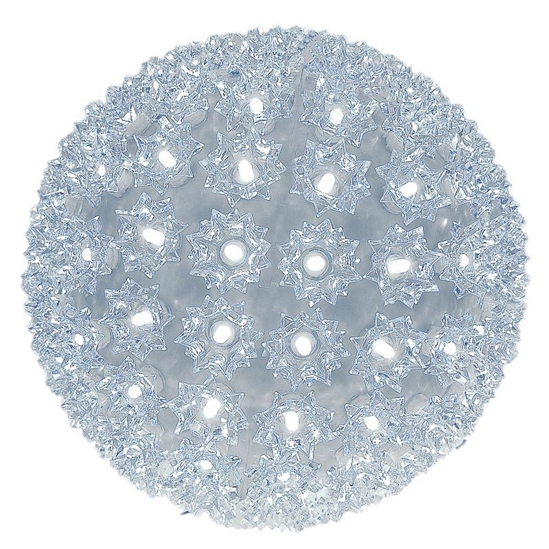 "Picture of 150 Twinkle LED 10"" Sphere Pure White"