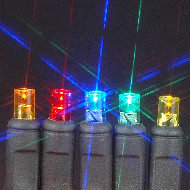 50 Light LED Christmas Mini Light Set, Patio Lights, Warm White ...