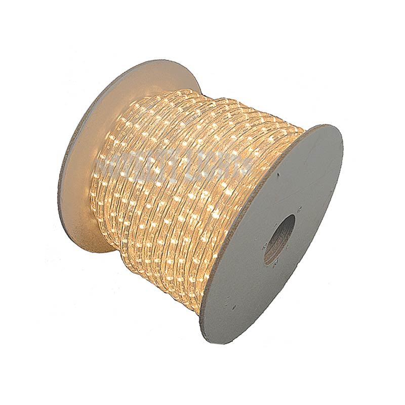 "Picture of 150 Ft Clear Rope Light Spool 1/2"" 120 Volt"