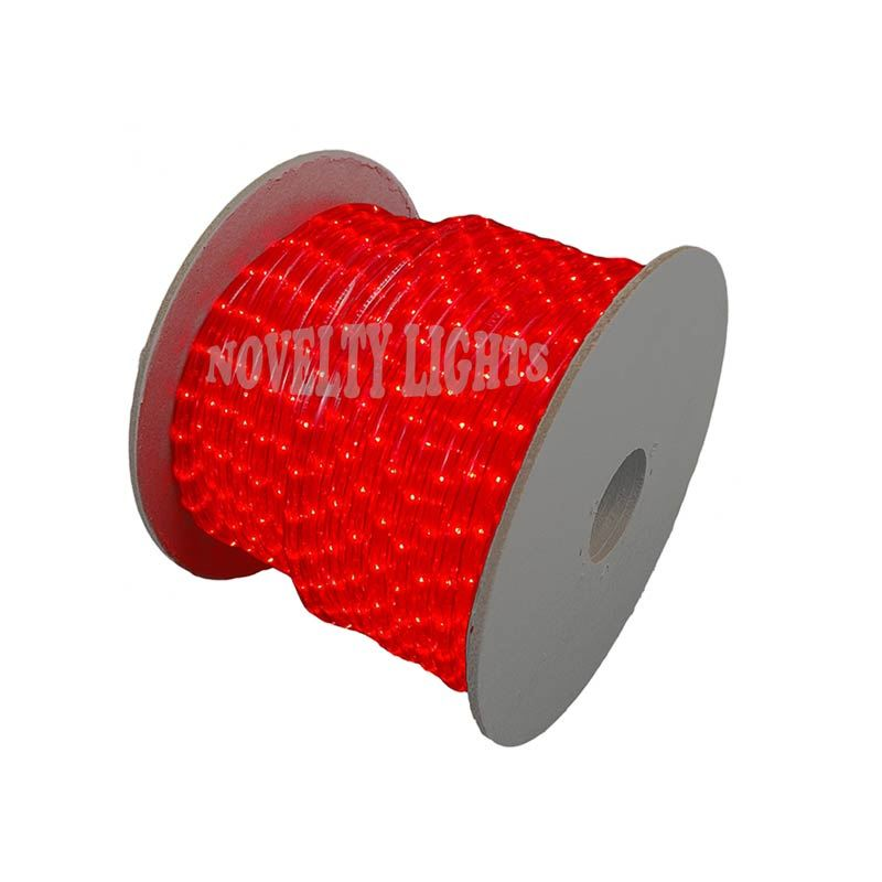"Picture of 150 Ft Red Rope Light Spool 1/2"" 120 Volt"