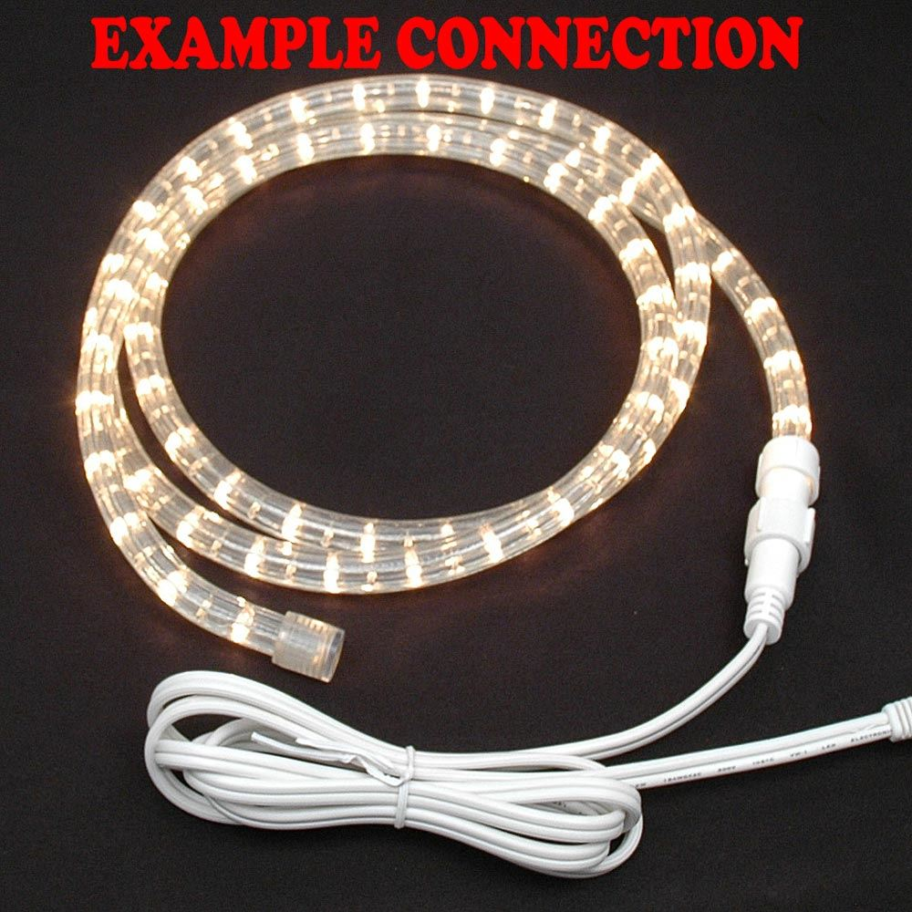 Rope light connector kit 2 foot novelty lights picture of 1 rope light connector kit for 12 2 wire rope aloadofball Gallery