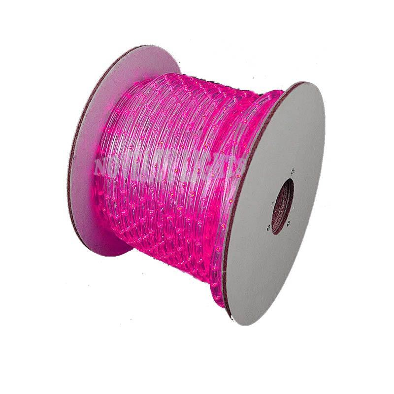 150 led pink rope light spool 12 inch 120 volt picture of pink led rope light spool 150 12 2 aloadofball Images