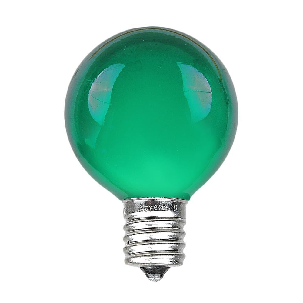 Picture of Green Satin G50 7 Watt Replacement Bulbs 25 Pack
