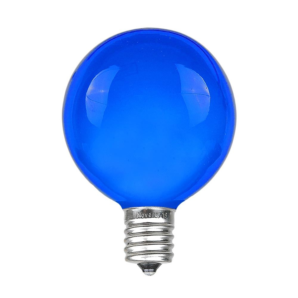 Picture of Blue G40 Globe Replacement Bulbs 25 Pack