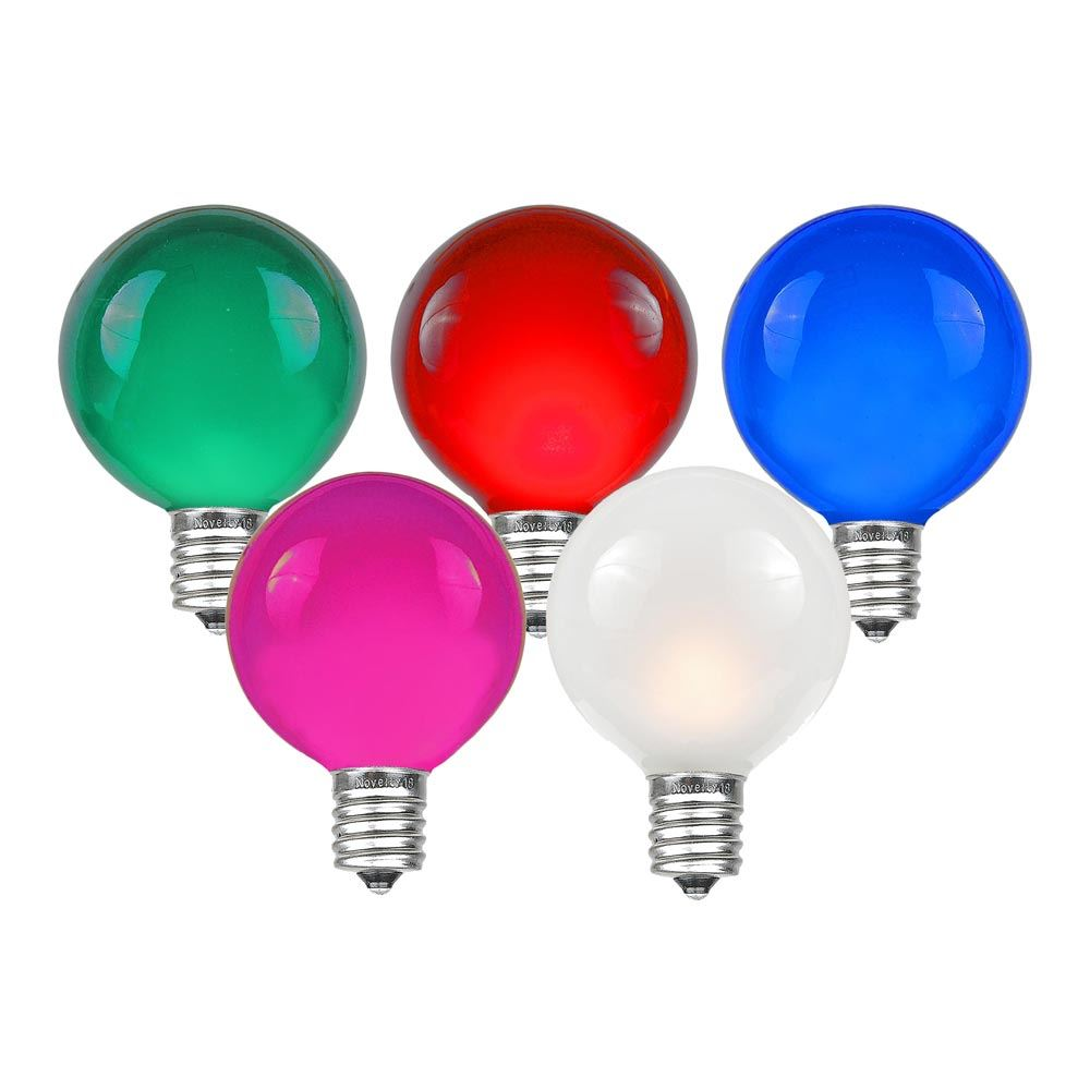 Picture of Multi G40 Globe Replacement Bulbs 25 Pack