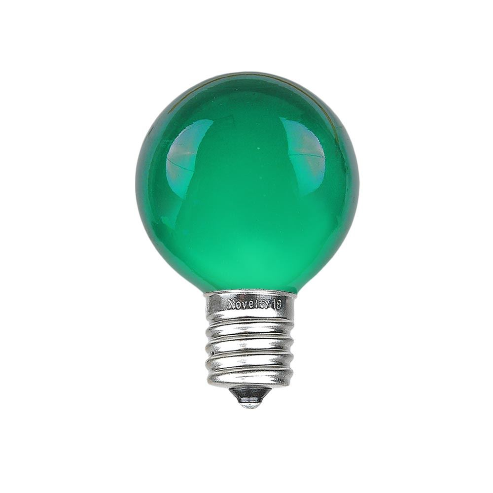 25 Pack G30 Outdoor Patio Globe Replacement Bulbs Clear