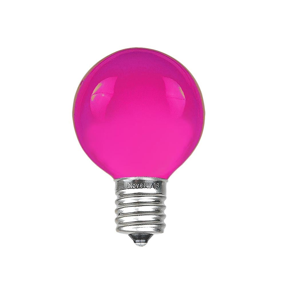 Picture of Purple Satin G30 5 Watt Replacement Bulbs 25 Pack