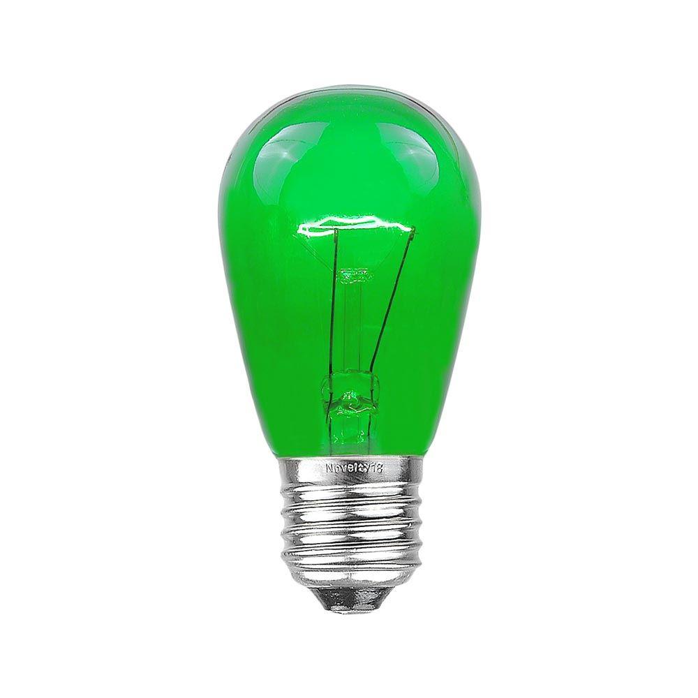S14 Assorted Transparent Bulbs 11 Watt E27 Base Novelty
