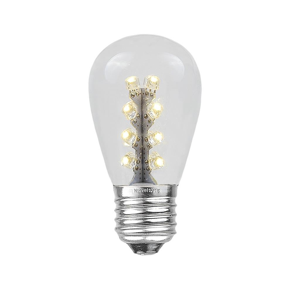 Picture of Warm White S14 LED Medium Base e26 Bulbs w/ 16 LEDs - 25pk