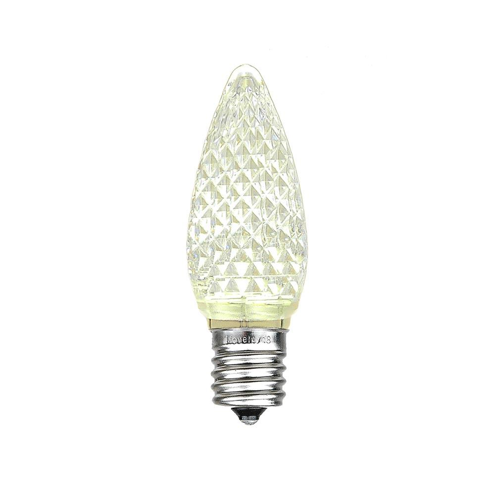 Picture of Warm White C9 LED Replacement Bulbs 25 Pack