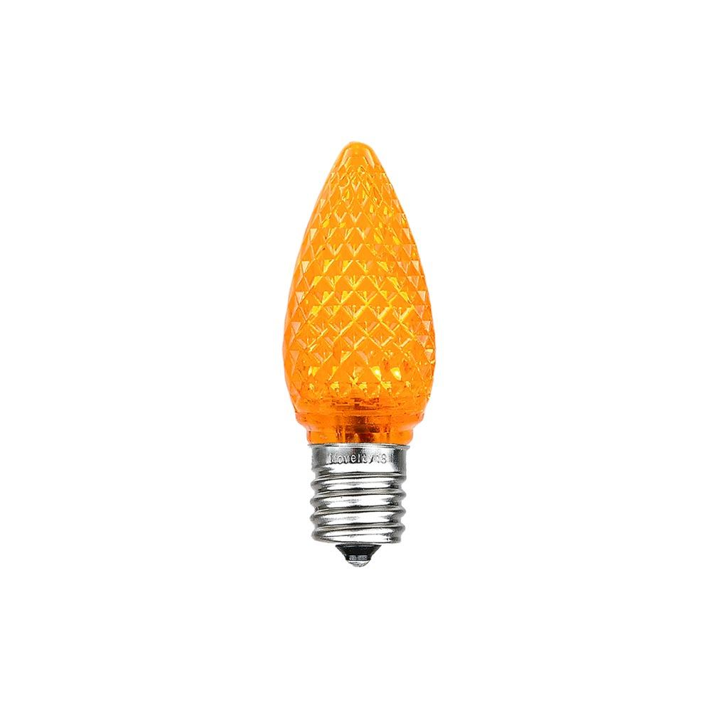 Picture of Amber C7 LED Replacement Lamps 25 Pack