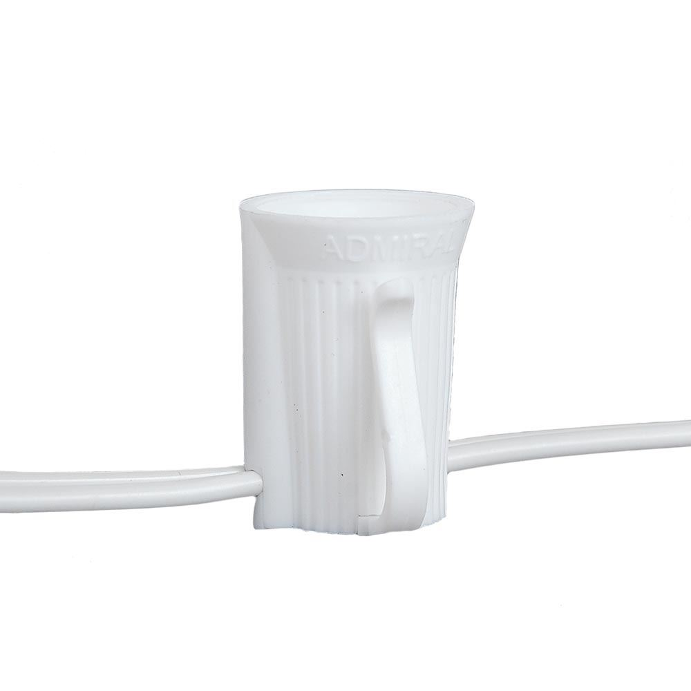 C9 1000 Foot Spool Withwhite Wire And 12 Quot Socket Spacing