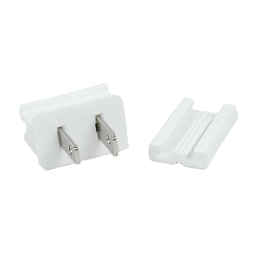 Picture of SPT-1 Male Plugs White