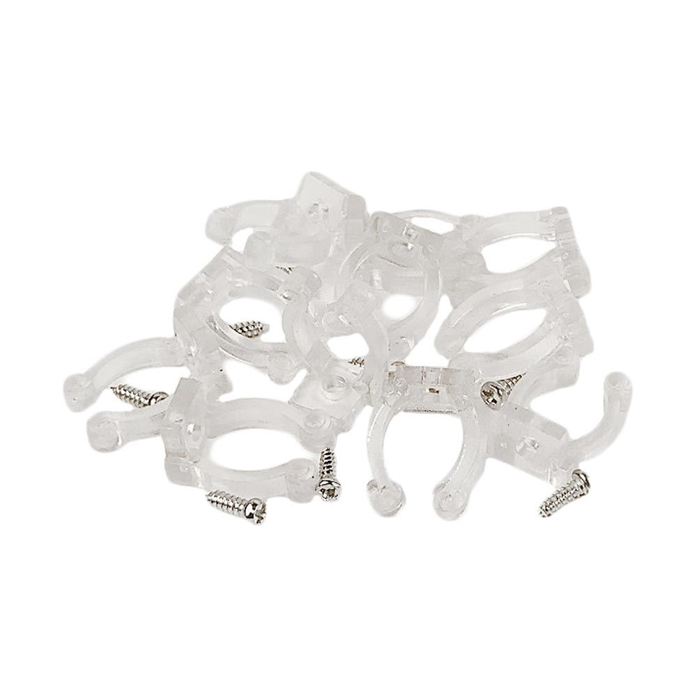 Custom cool white led rope light kit novelty lights picture of rope light clips 10 pack 12 aloadofball Choice Image