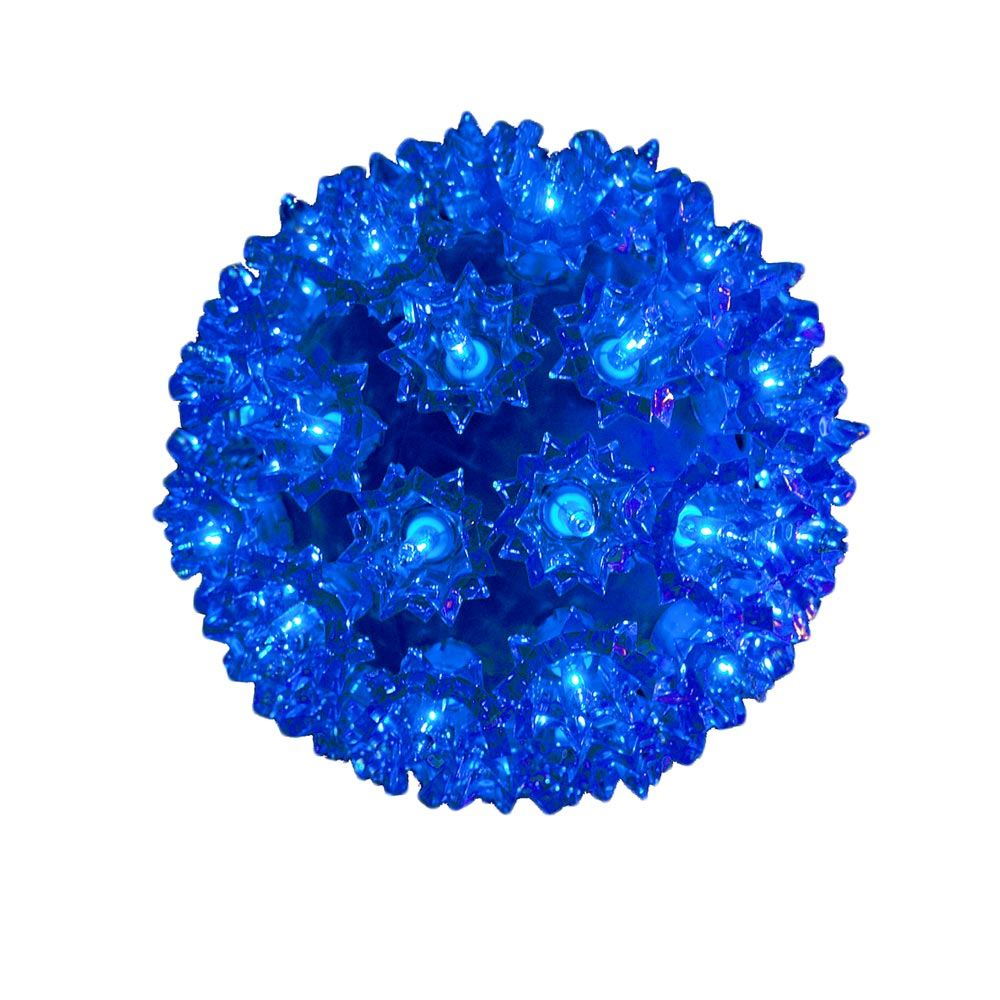 Picture of Blue 50 Light Mini Starlight Sphere 6""