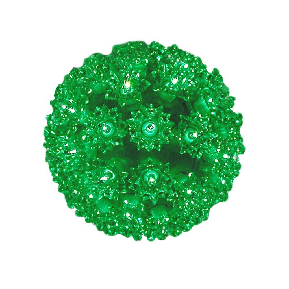 Picture of Green 50 Light Mini Starlight Sphere 6""
