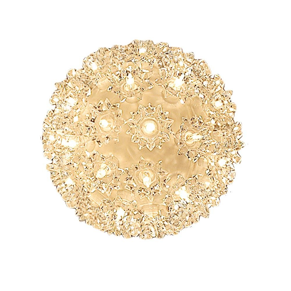 "Picture of 50 Light 6"" Clear Twinkling Starlight Spheres"