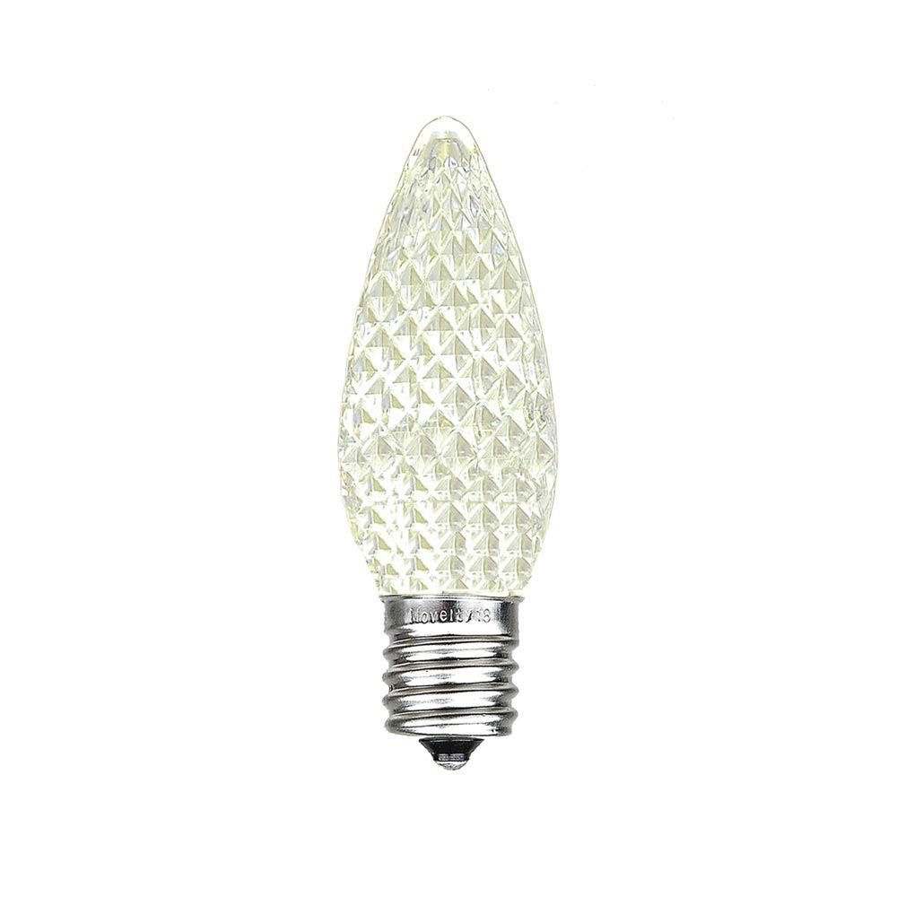 25 Pack C7 LED Outdoor Christmas Replacement Bulbs, C7/E12