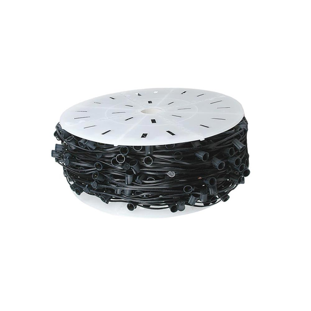"Picture of C7 250 Spool 6"" Spacing 8 Amp Black Wire"