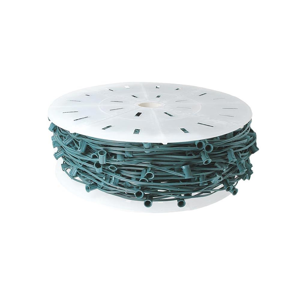 "Picture of C7 250 Spool 18"" Spacing 8 Amp Green Wire"