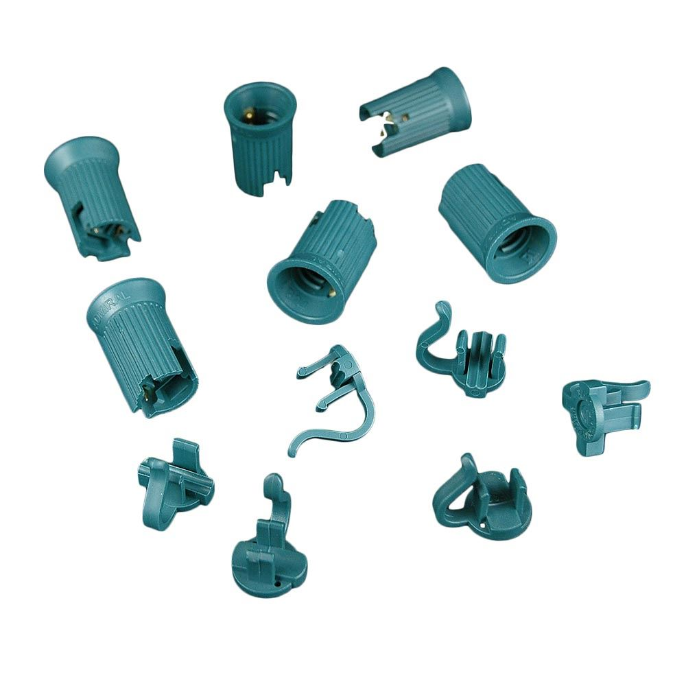 Picture of C7 SPT-1 Green Sockets 50 Pack