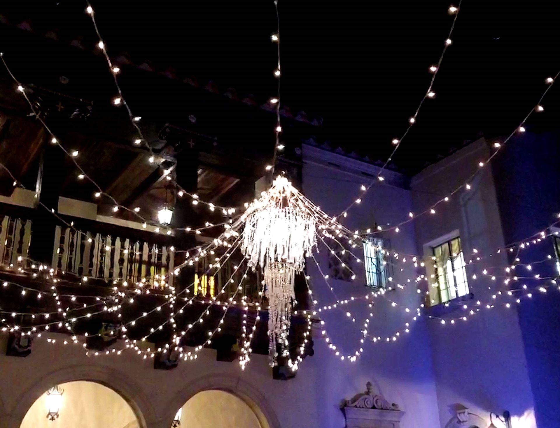 White Christmas Lights.Clear Christmas Mini Lights 100 Light 50 Feet Long On White Wire