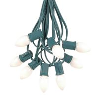 Picture for category White C7 Outdoor Christmas String Light Sets