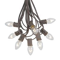 Picture for category C7 Brown Wire Outdoor String Light Sets