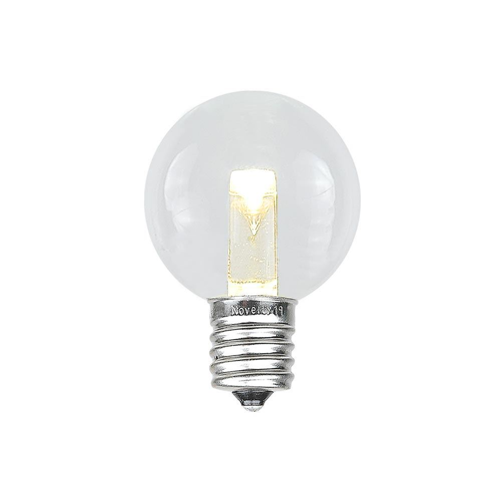 Picture of Designer Series Warm White G30 Glass LED Replacement Bulbs
