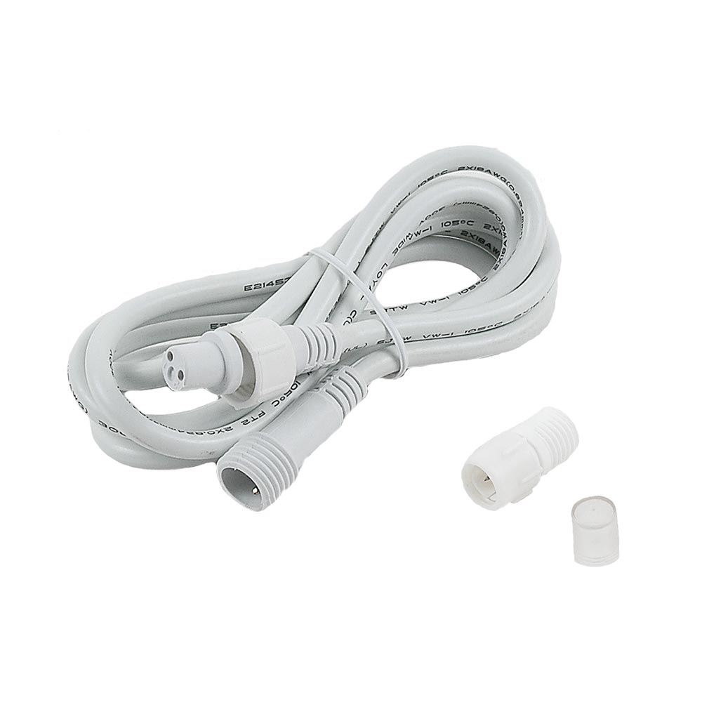 "Picture of Rope-to-Power Cord Extension for 2 wire 1/2"" Rope Lights"